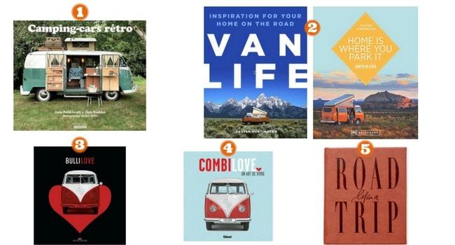 Livres pour vanlifers_Beaux livres
