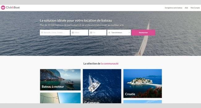 click&boat location de bateaux