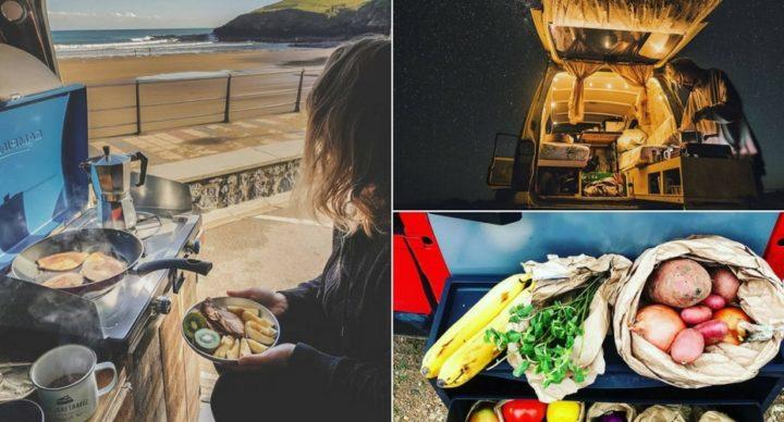 Bien manger en vacances en camping-car