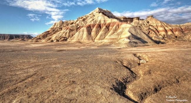 Cabezo de las Cortinillas desert des bardenas