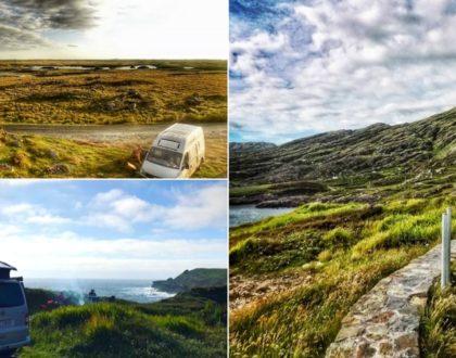 En route vers l'Irlande en camping-car