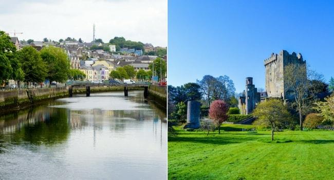 En route vers l'Irlande en camping-car_Cork & Chateau de Blarney
