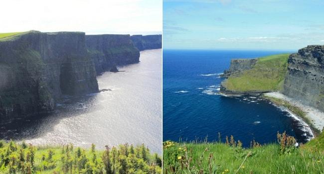 En route vers l'Irlande en camping-car_Falaises de Moher