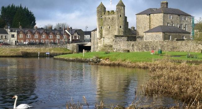 L'Irlande du Nord en camping-car_Château-Enniskillen