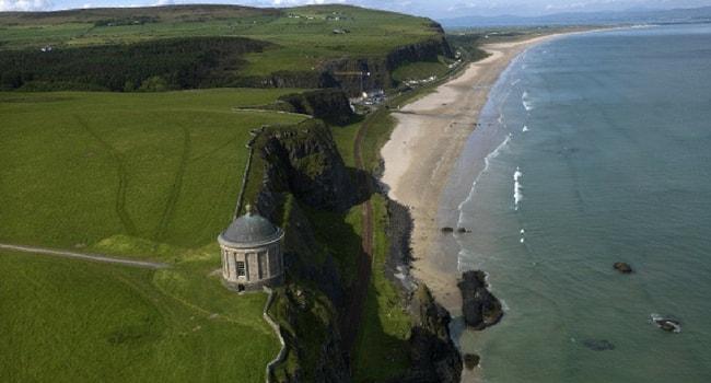 L'Irlande du Nord en camping-car_Downhill-Strand