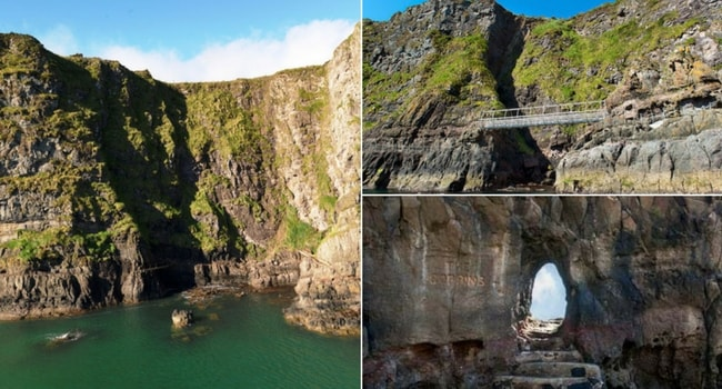 L'Irlande du Nord en camping-car_Le-sentier-des-Gobbins
