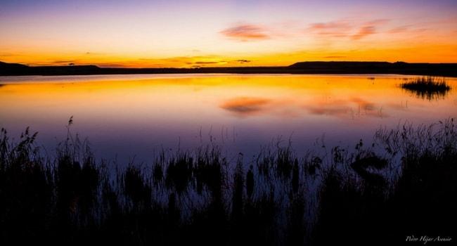 Laguna de Pitillas bardenas