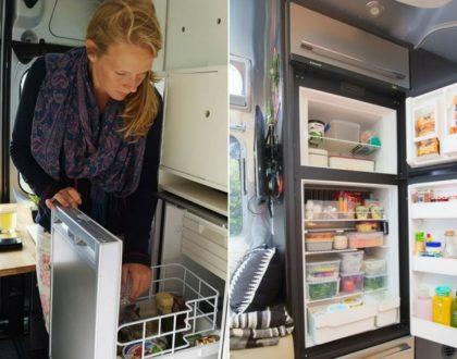 Organiser son réfrigérateur avant un roadtrip