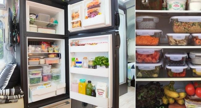 Organiser son réfrigérateur avant un roadtrip_RangementEco