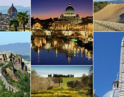 Excursion en Italie centrale en camping-car