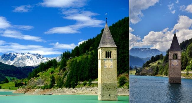 Excursion en Italie du Nord en camping-car_Lago di Resia