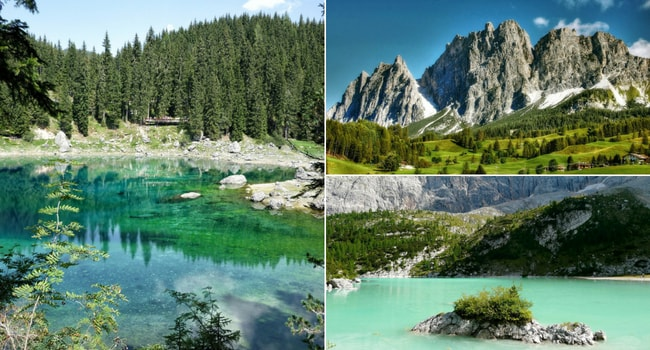 Excursion en Italie du Nord en camping_car_Route des Dolomites