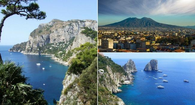 Excursion en Italie du Sud en camping-car_Vésuve-Capri