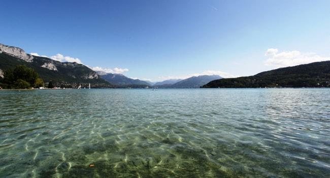 Les plus beaux lacs de baignade en France_Annecy