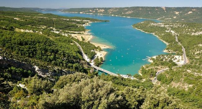 Les plus beaux lacs de baignade en France_Sainte-Croix