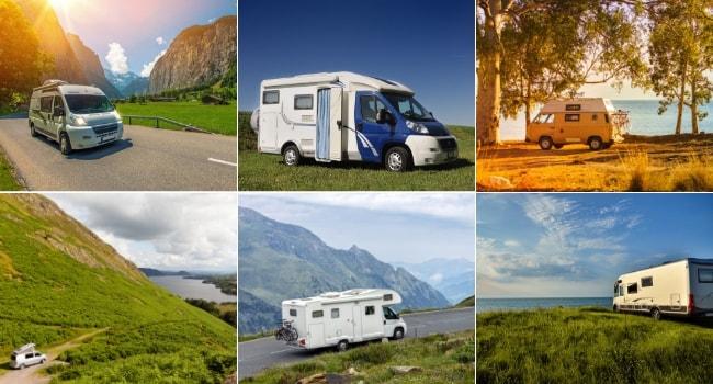 mariages en camping-car