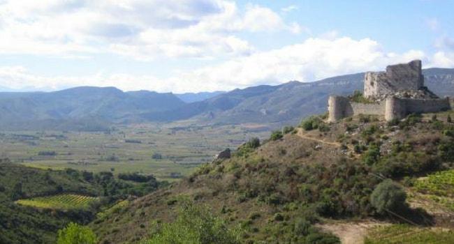 Le Pays Cathare en camping-car_Aguilar