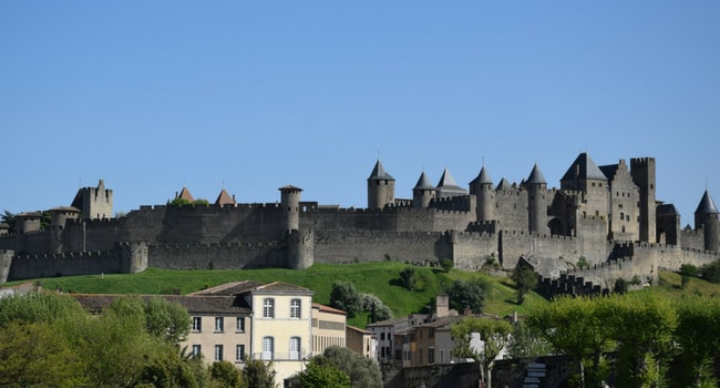 Le Pays Cathare en camping-car_Carcassonne