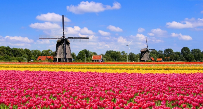 Pays-Bas en camping-car