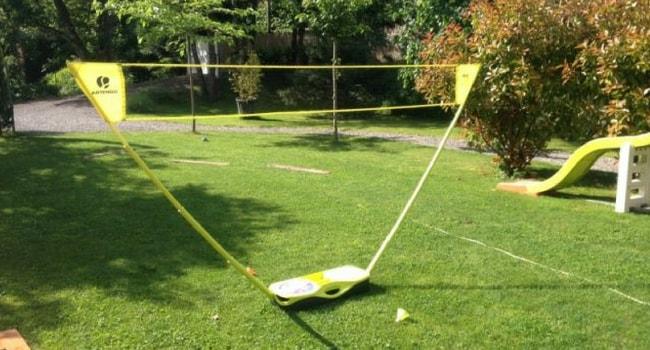 badminton camping-car