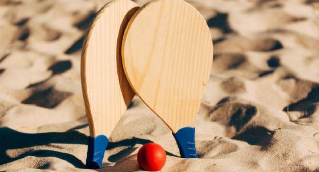 jeu de raquette vacances