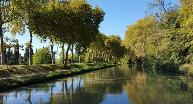 Le Pays Cathare en camping-car_Canal du Midi