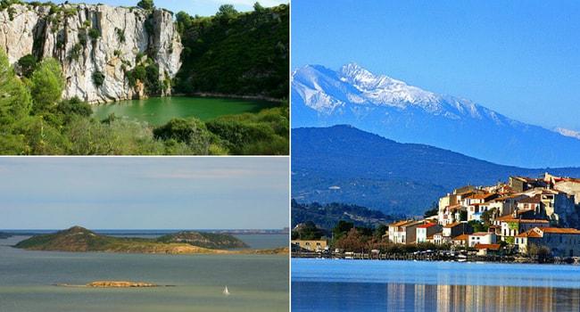 Le Pays Cathare en camping-car_Parc Naturel Régional de la Narbonnaise en Méditerranée