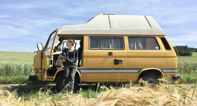 combi vw T3 the roadtrippers