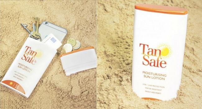 creme solaire plage