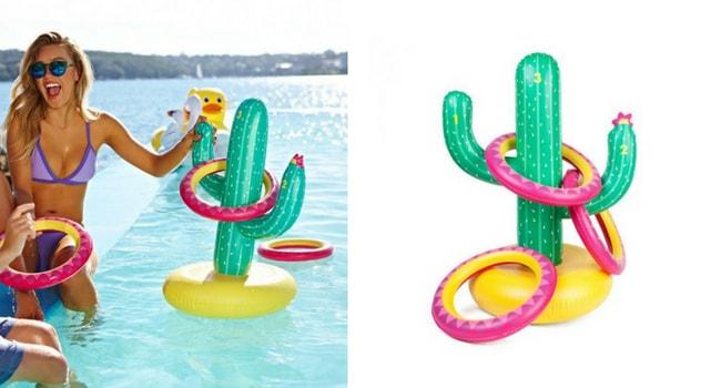jeu cactus gonflable