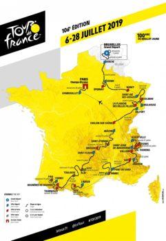Tour de France 2019_Carte