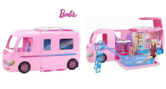 Idées cadeaux camping-cars_DreamCamper Barbie
