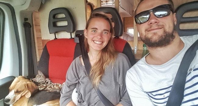 Rencontre avec les Three Vanlifers_Voyage en camping-car avec des animaux