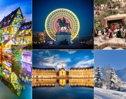 Top 5 des destinations françaises en décembre