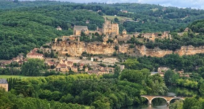 En route vers la Dordogne en camping-car_Château de Beynac