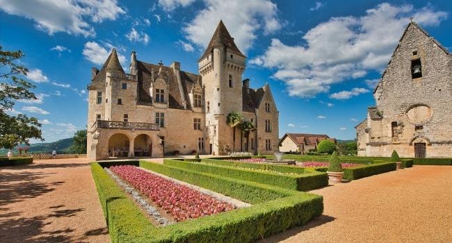 En route vers la Dordogne en camping-car_Château des Milandes