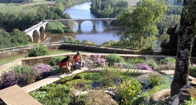 En route vers la Dordogne en camping-car_Jardins panoramiques de Limeuil