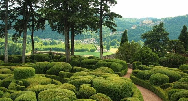 En route vers la Dordogne en camping-car_Jardins suspendus de Marqueyssac