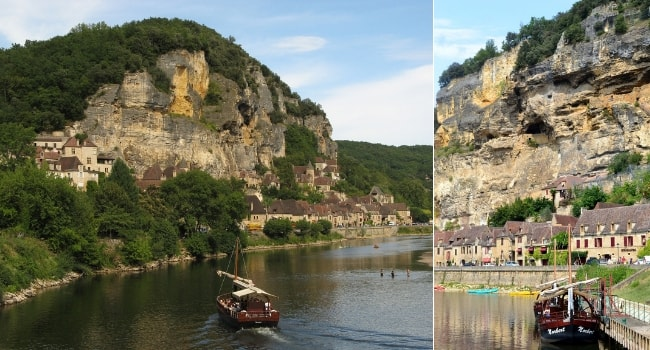 En route vers la Dordogne en camping-car_La Roque-Gageac