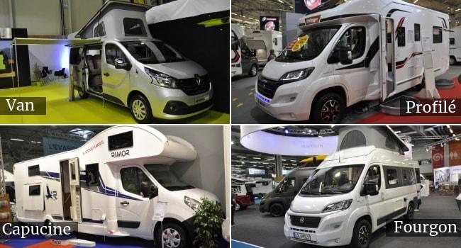Salon des Véhicules de Loisirs 2020_Types Camping-cars