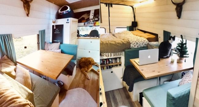 The Travelling Shed_Voyager avec ses animaux de compagnie