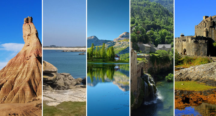 Top 5 des destinations 2018 en camping-car