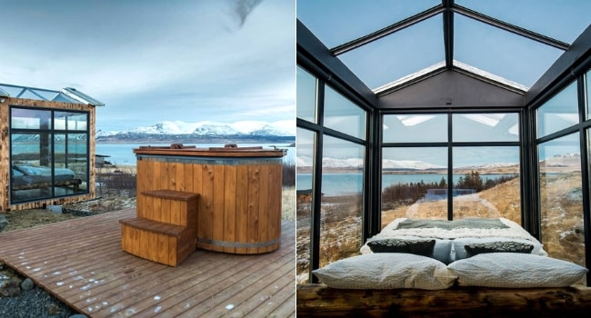 Tiny house Panorama Glass Lodge Iceland