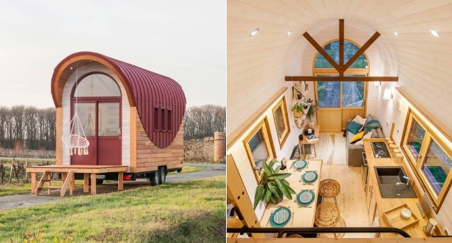 Tiny house Flamenco Baluchon
