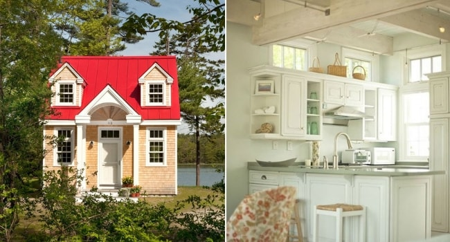 Tiny house creative cottage