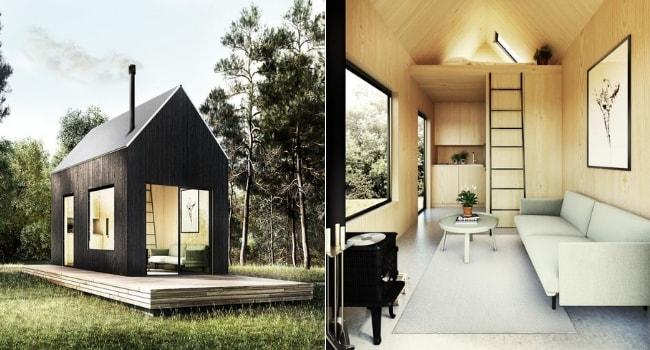 Tiny house meet walden
