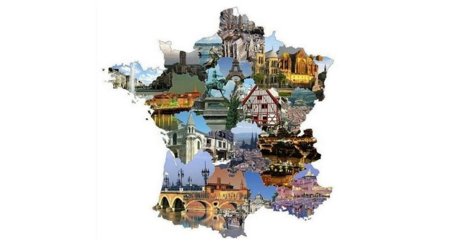 Régions françaises en camping-car