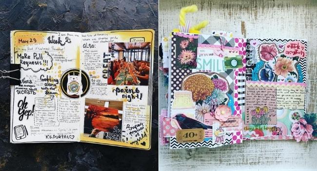 Les carnets de voyage_Le smash book