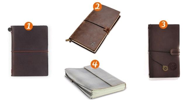 Les carnets de voyage_Les Travelers notebooks