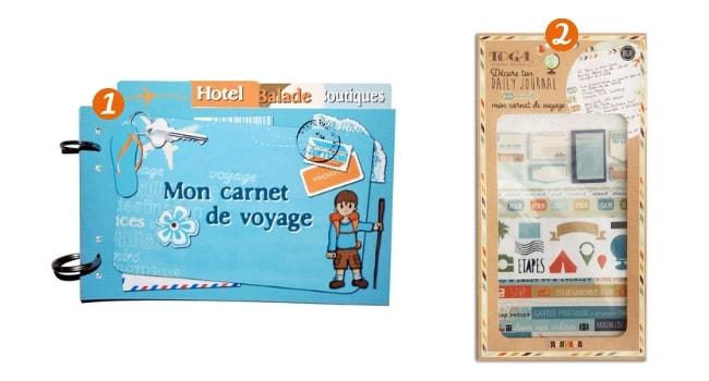 Les carnets de voyage_Les carnets DIY